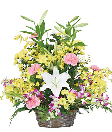 生花かご盛10,000円